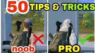 50 PRO TIPS AND TRICKS FOR PUBG MOBILE | PUBG MOBILE TIPS AND TRICKS