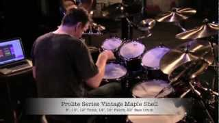 Gavin Harrison Prolite Soundcheck - Regina Sept 27, 2012