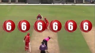 Misbah-ul-Haq 6 Sixes in 6 Balls | Misbah-ul-Haq 6 Sixes in just 6 Balls in Hong Kong 2017 Blitz