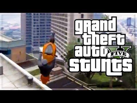 """GTA 5 STUNTS - BEST GTA 5 STUNTS OF 2013 (Hazardous and Kwebbelkop) """"GTA 5 STUNTS"""""""