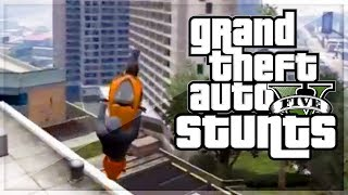 "GTA 5 STUNTS - BEST GTA 5 STUNTS OF 2013 (Hazardous and Kwebbelkop) ""GTA 5 STUNTS"""