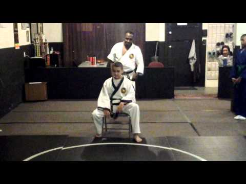 Tang Soo Do Chair Technique Image 1