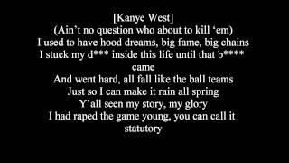 download lagu Creatures Lie Here Monsters Lyircs ~ Lil Wayne, Kanye gratis