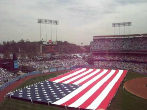 Opening Ceremony for 2009 Dodger Season