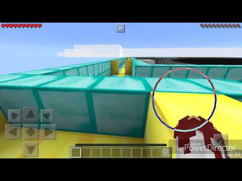 Minecraft PE - The Dropper - Еп.1 [ Скачане във вода 😸 ]