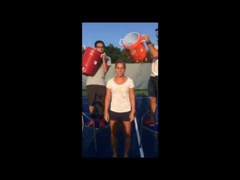 Dominika Cibulkova: Ice Bucket Challenge