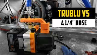 "TruBlu vs. 1/4"" Hose w/The Navac NP2DLM"