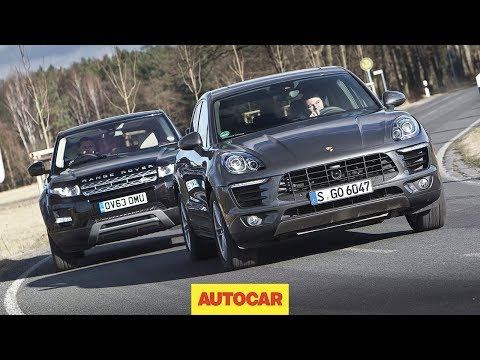 Porsche Macan Vs Range Rover Evoque - One Of These Is The Best Small SUV In The World