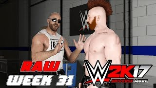 wwe2k Universe Mode I The Reality Era (Raw Week 31)