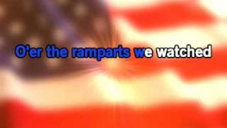 National Anthem The Star Spangled Banner Karaoke Audio