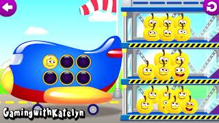 FUNNY FOOD 3, GAMES FOR BABIES, TODDLERS AND KIDS.LEARNING NUMBERS PART 3
