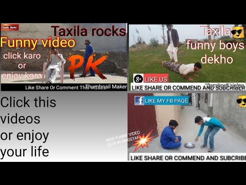 Pakistani Funny Video 2018 ! New Funny Video ! Funny Videos Eps 5