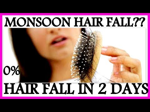 How to Stop Hair Fall in 2 days and Grow Hair Faster | Monsoon Hair Care Tips for Women & Men