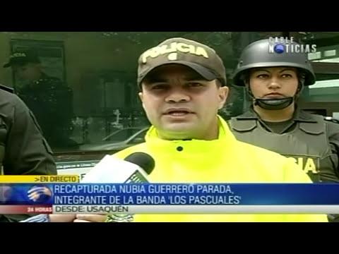 Capturada mujer cabecilla de banda delincuencial 'Los Pascuales'