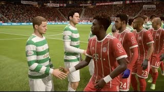 FIFA 18 SIM: BAYERN MUNICH V CELTIC IN THE CHAMPIONS LEAGUE