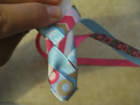 Make 6 Ribbon Woven Headbands