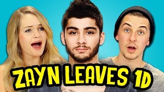 ZAYN LEAVES ONE DIRECTION! (REACT SPECIAL)