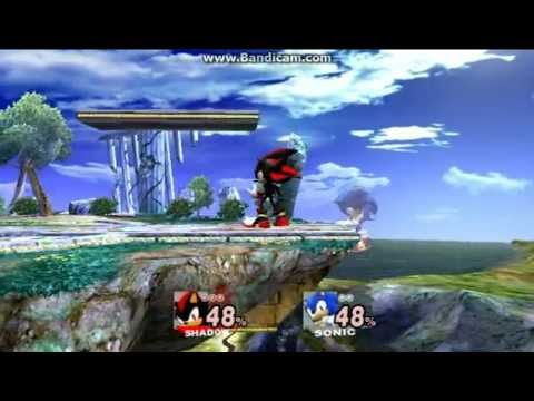SSBB Hacks: Shadow Vs Sonic