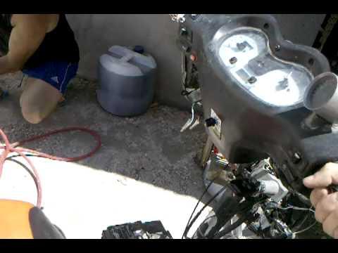 motomel vx 150 con control de largada y corte