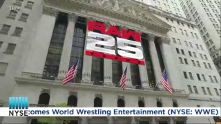 World Wrestling Entertainment (WWE) Ring the NYSE Opening Bell