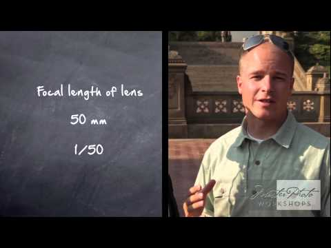 Understanding Shutter Speed Photography Tutorial