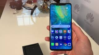 Huawei Mate 20 Pro unboxing