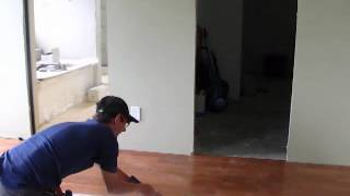 Installing Engineered Hardwood Floor: Tools