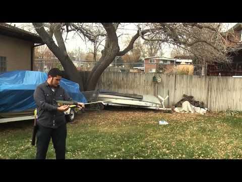 Shooting the 25-30 Pound PVC Takedown Travel Bow in Colorado