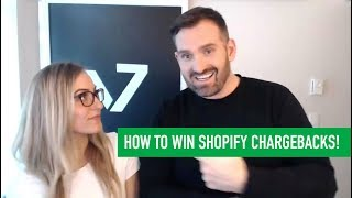 How To WIN CHARGEBACKS on SHOPIFY