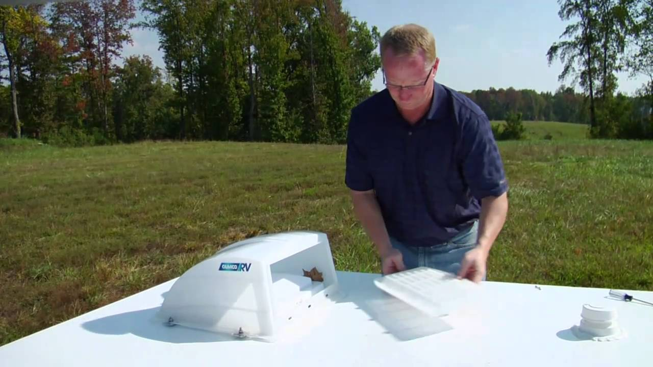 Rv Roof Vent Cover Camco 40433 Youtube