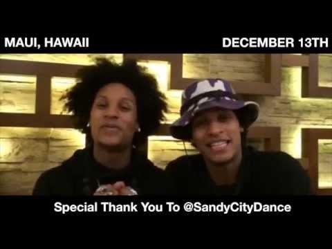 Les Twins Promo for 13 December 2014 Maui Hawaii Workshop