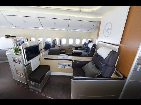 Lufthansa B747-8 Intercontinental First Class - Experience the Legend!
