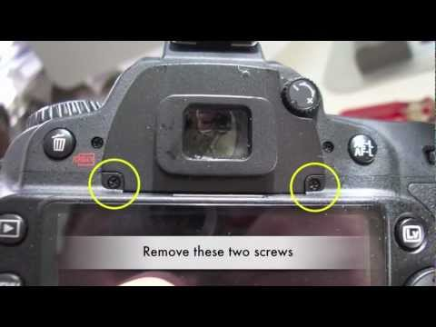 Nikon D90 LCD screen display replacement repair