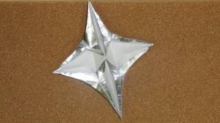 Daily Origami:  057 - Wishing Star
