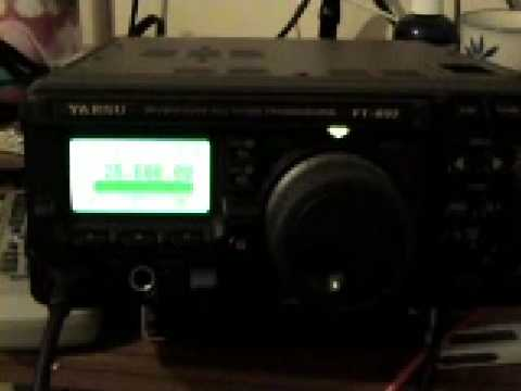 Yaesu FT897 10m FM Demonstration