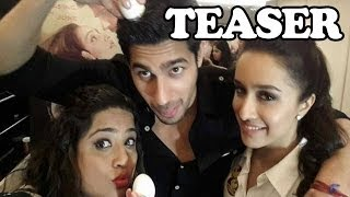 Siddharth Malhotra & Shraddha Kapoor on Malishka Unleashed | Teaser