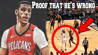 Lonzo Ball is ABSOLUTELY DELUSIONAL about his NBA Career (LaMelo, Jump shot, Pelicans Highlights)