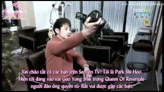 Park Shi Hoo - TV Interview
