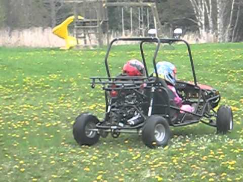 Fun Wheels In The Dirt TaoTao 125cc GoKart