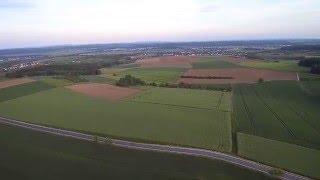 Luftaufnahme Altenstadt Windräder