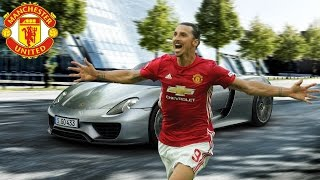 Manchester United Players Cars -2017 [ Zlatan Ibrahimovic, Paul Pogba, Rooney etc.... ]