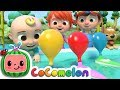 Balloon Boat Race Cocomelon ABCkidTV Nursery Rhymes Kids Songs mp3