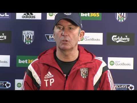 PRESS CONFERENCE | Tony Pulis previews Albion's Barclays Premier League clash against Tottenham