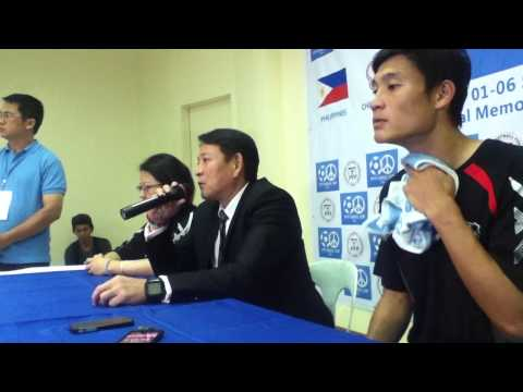 3rd PFF Peace Cup Post-Match Press Conference Chinese-Taipei vs the Philippines (September 3)
