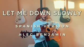 Diego Jhazs - Let Me Down Slowly (Spanish Version) / Alec Benjamin cover