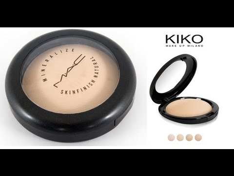 mineralize skinfinish natural mac vs. cipria minerale kiko