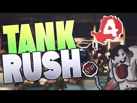 Left 4 dead 1: partida online Dead center-tank rush-loquendo