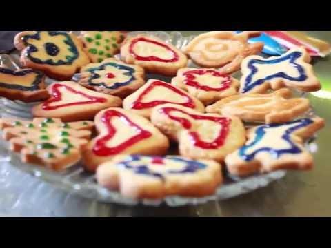 Песочное печенье - очень вкусное, простое  и красивое