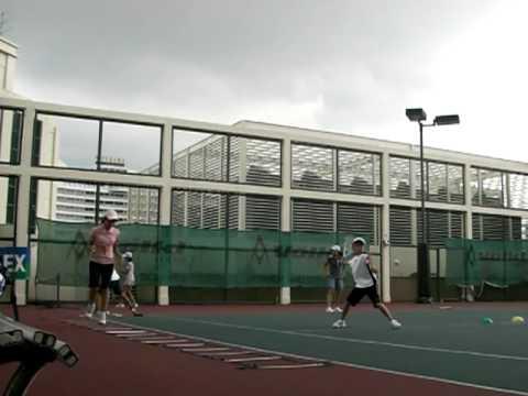 テニス フォアハンドストローク JAクラス 1
