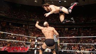 Daniel Bryan vs. Antonio Cesaro - Gauntlet Match: Raw, July 22, 2013